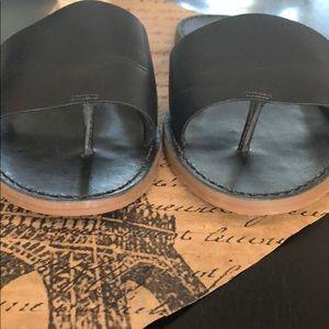 Madewell Shoes - Madewell The Boardwalk Post Slide Sandal